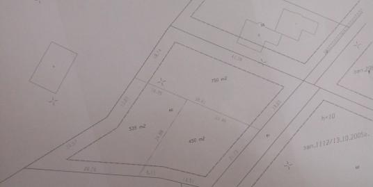 урегулирани парцели за жилищно строителство в м. Казан Топра над телевизионната кула в гр. Хасково