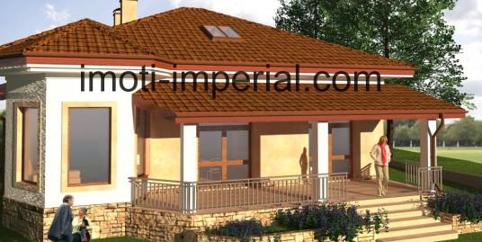 Парцел с готов проект за къща в град Хасково