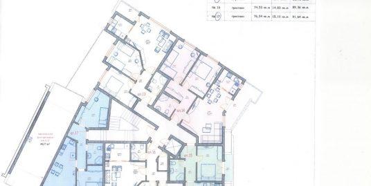 Двустаен апартамент ново строителство в кв. Училищни, град Хасково