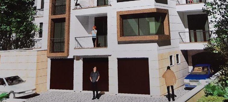 Самостоятелен гараж в новострояща се кооперция в кв. Дружба, град Хасково