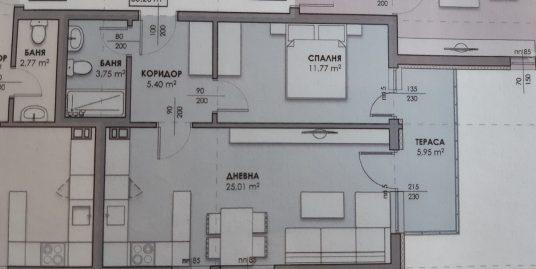 Двустаен апартамент в нова луксозна сграда в кв. Любен Каравелов, град Хасково